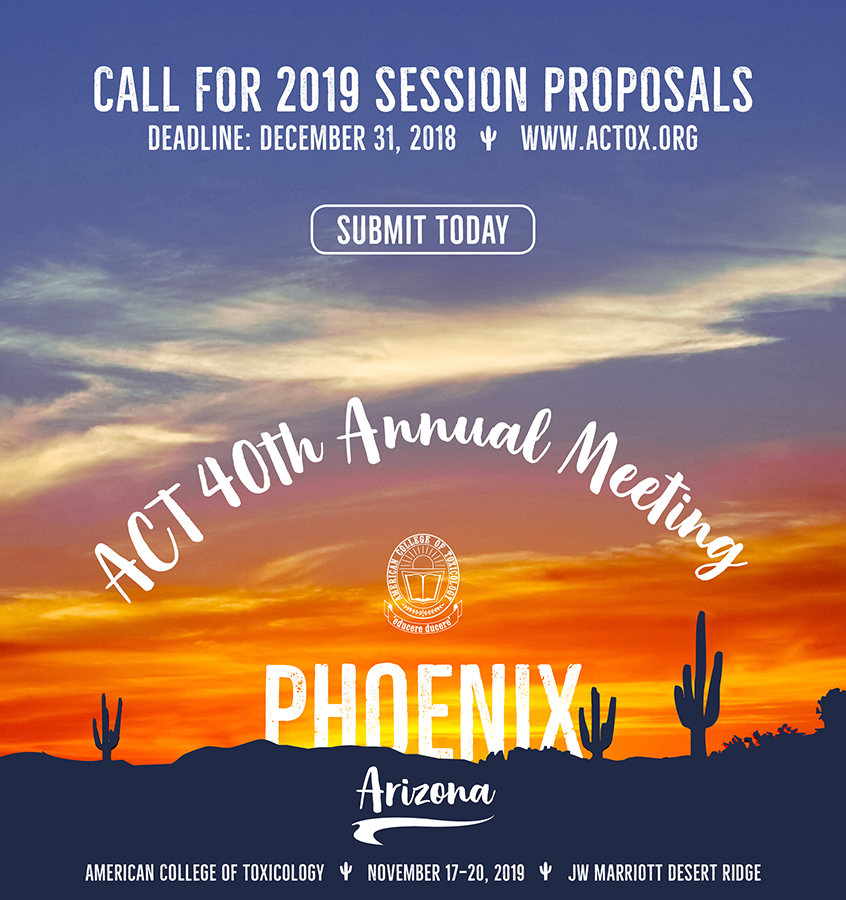 2019 ACT Session Proposals